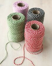 10m METRE BAKERS TWINE, BUTCHERS STRING, RIBBON, NATURAL COLOURED GIFT