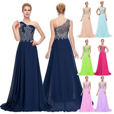 Womens Formal Long Dress Sexy Bridesmaid Cocktail Party Ball Gown Prom Evening