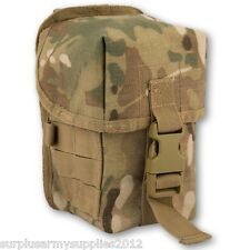 ARMY WEBBING MOLLE UTILITY POUCH MTP MULTICAM BRITISH ARMY CADET HUNTING