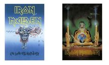 IRON MAIDEN - CAN I PLAY WITH MADNESS / CRYSTAL - OFFICIAL TEXTILE POSTER FLAG