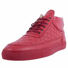 RONNIE FIEG X FILLING PIECES HALFTOP FASHION SNEAKERS QUILT RED SEASON SS14 KITH