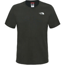 North Face Red Box Mens T-shirt - Rosin Green All Sizes
