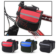 Mountain Bicycle Cycling Bike Top Tube Saddle Bag Frame Pannier Rack Accessories