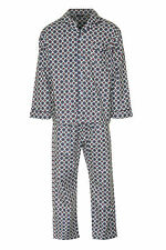Mens Champion Brushed Cotton Flannalette Long Pyjamas Sleepwear Nightwear