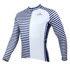 Sailor Men Long Sleeve Cycling Jersey Bicycle Bike Sportwear Apparel Rider CX18e