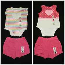 Garanimals Baby Girls Summer Outfits Size 3-6M NEW!