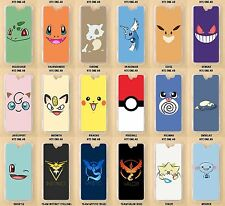 HTC One A9, M8, M9, 10, Mini 2 Pokemon Go Custom Made Clear Phone Case