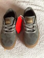 Vans Boys Atwood Camo Shoes/ Sizes: 10.5, 11, 12/ NWB