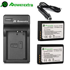 LP-E10 LPE10 Li-ion Battery + Charger For Canon Rebel 1100D 1200D T3 T5 Kiss X50