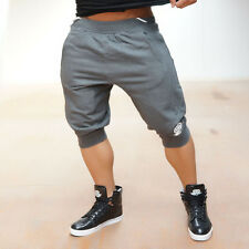 Men's 100% Cotton Gym  Shorts Gym Trousers Sport Jogging Trousers Casual pants