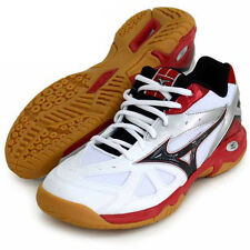 Mizuno JAPAN Badminton Shoes Wave Gate 4 71GA1640 Whie Black Red