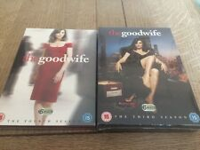 The Good Wife DVD Season 3 And 4 New And Sealed Free P&P