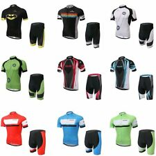 Men's Cycling Clothing Jersey Comfortable Bike Bicycle jersey Padded Bib Pants