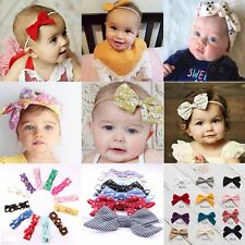 Lot Newborn-3Yrs Girls Baby Toddler Headband Bow Hairbands Hairbow Accessories