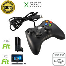 New Wired USB Game Pad Controller For Microsoft Xbox 360  Multiple Colors