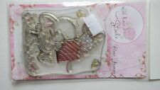 Wild Rose Studio Clear Rubber Stamps - Bella with Presents
