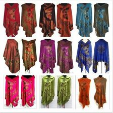 HOT New Double-side women's wraps Chinese Women's Pashmina Shawl/Scarf Butterfly