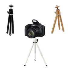 Gold Small Adjustable Universal Tripod Stand Mount For Various Camera Camcorder