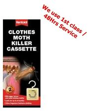 Rentokil Moth Killer Hanging Cassetts / units (Twin pack) Citrus Insecticide