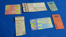 Vintage 80s Concert Ticket Stubs New York IRON MAIDEN Ozzy Benatar Judas Priest