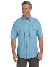 1013S Hook & Tackle Men's Gulf Stream Short-Sleeve Fishing Shirt
