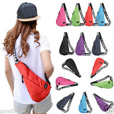 Sling Chest Bags Unisex Waterproof Shoulder Messenger Unbalance Hiking Rucback