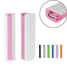 2600Mah Battery USB Portable External Power Bank Charger For Mobile Cell Phone