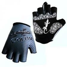 Cycling Bike Bicycle Half Finger Gloves Gel Padded Sports Short Gloves