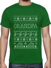 Funny Gift for Grandpa Ugly Christmas Sweater T-Shirt Gift