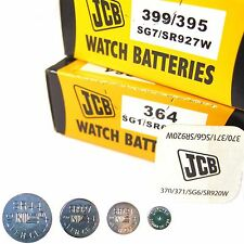 JCB  Watch Batteries 1.5V Silver Oxide Coin Cell   ( All Sizes ) Quantity Req