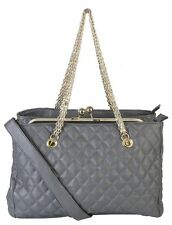 Rimen & Co. Soft PU Leather Structured Quilted Womens Purse Handbag XH-2685