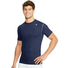 Champion Double Dry Short-Sleeve Men's Compression T Shirt (T628)