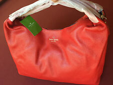 NWT AUTHENTIC KATE SPADE Juniper Mansfield Large Shoulder Bag / Satchel - RED