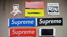 New Supreme Betty Boop Motion Production or Glitter Box Logo (1 Sticker Only)