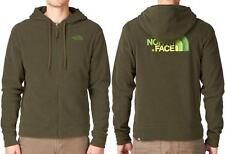 The North Face Men's 100 Embro Polartec Hoody Jacket, S / Fig Green - $90 NWT!