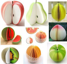 Fruit Note Memo Pads Office Scratch Paper Notepads Fruit Post Sticky /150-Page