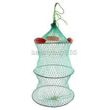 Foldable Fishing Keep Net Fishing Crab Fish Lobster Crawdad Trap Net