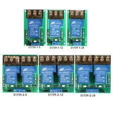 DC 5V/12V/24V 30A 1-Channel/2-Channel Relay Module Board High/Low Trigger P9K1
