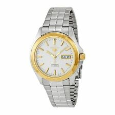 Seiko SNKK96 Mens Silver Dial Analog Automatic Watch with Stainless Steel Strap