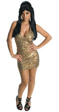 Snooki leopard dress adult Jersey Shore costume