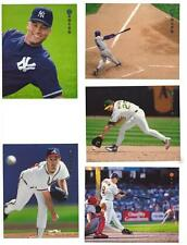 1997 Zenith 8 X 10 Baseball Team Sets ** Pick Your Team Set **