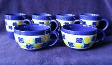 Istanbul by Tabletops Unlimited Coffee Mugs(4) & Soup Mugs(2)