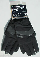 GIRO PIVOT Adult Full Finger Winter Cycling Gloves Waterproof M L XL RRP £59.99