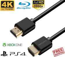 Premium HDMI Cable 3FT 6FT 10FT+ More - for Blu-ray PS4 Xbox One Laptop 4K Kabel