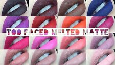 ***BNIB Too Faced Melted Matte Liquefied Long Wear Matte Lipstick 2016 Limited!!