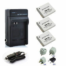 New Battery /  Charger For Canon PowerShot SX510,SX520,SX530 HS Digital Camera