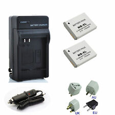 New Battery / Charger For Canon PowerShot SX170 IS and SX500 IS Digital Camera