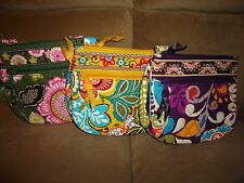 Vera Bradley Little Flap Hipster Purse-Plum Crazy, Olivia Pink or Provencal-NEW