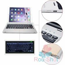 Ultrathin Smart 7 Colors Backlit Bluetooth Keyboard Aluminum For iPad Pro 12.9""