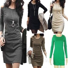 Party Ladies Casual Korea Mini Bodycon One piece Pencil Dress sz S